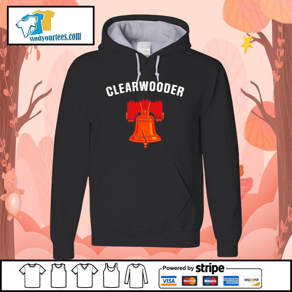 Clearwooder clearwater philly baseball Hoodie