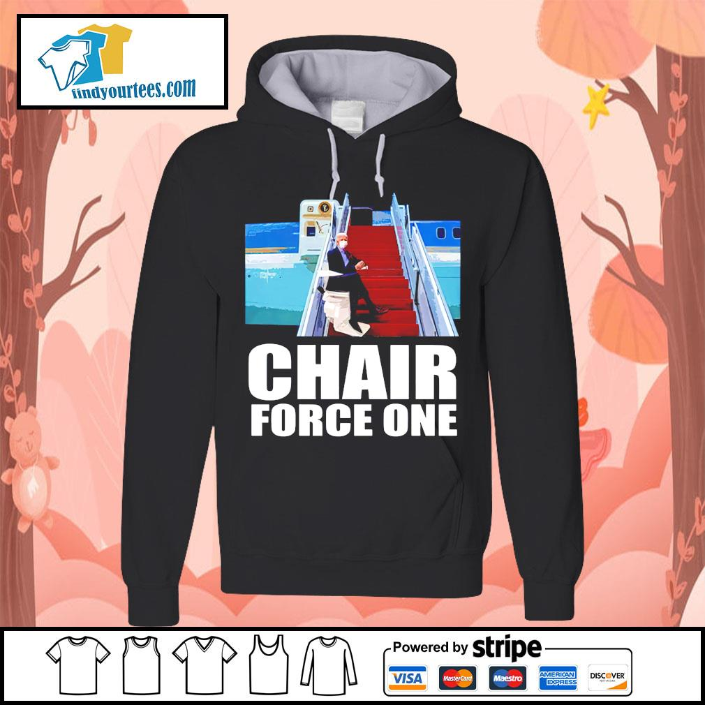 Biden chair force one falls on stairs Hoodie