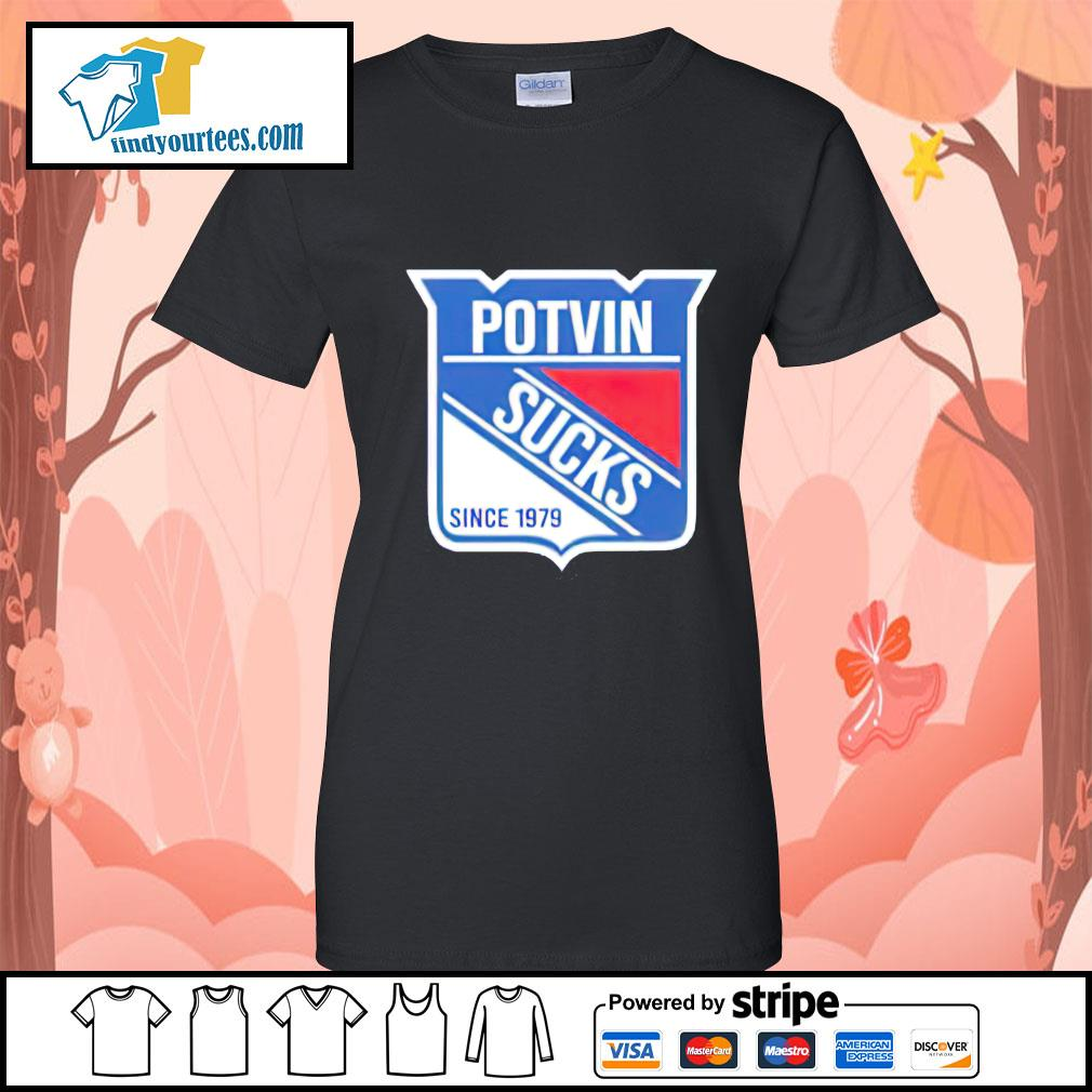 Potvin sucks since 1979 Ladies-Tee