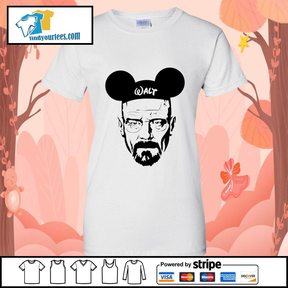 Walter White Walt Disney Ladies-Tee