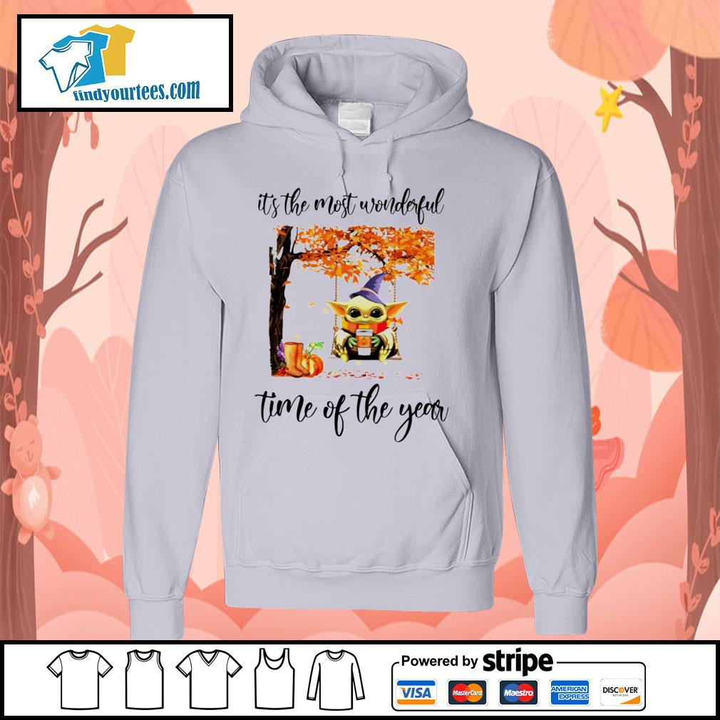 Baby Yoda It's the most wonderful time of the year s Hoodie