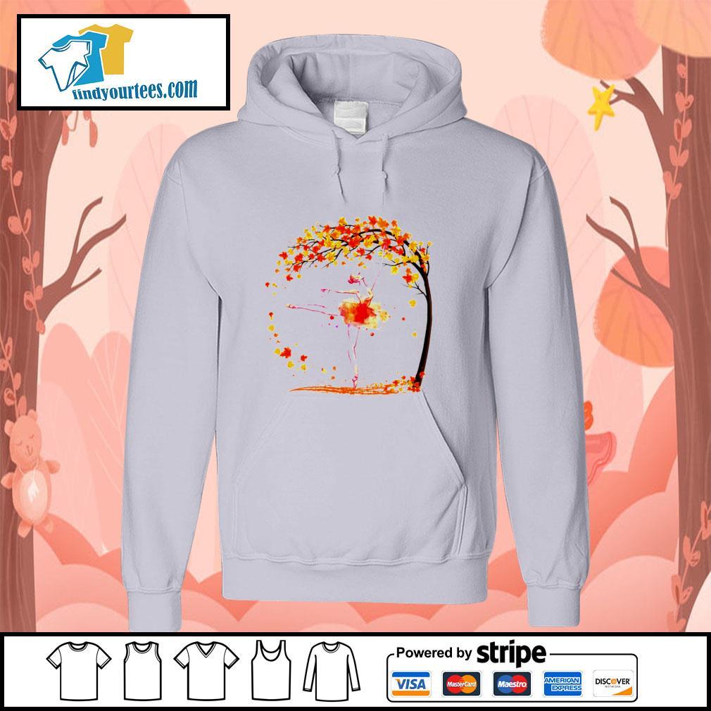 Ballet in autumn s hoodie