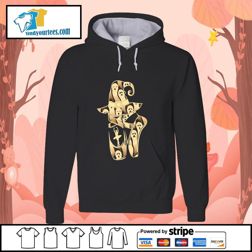 Ballet witch ghost halloween s hoodie