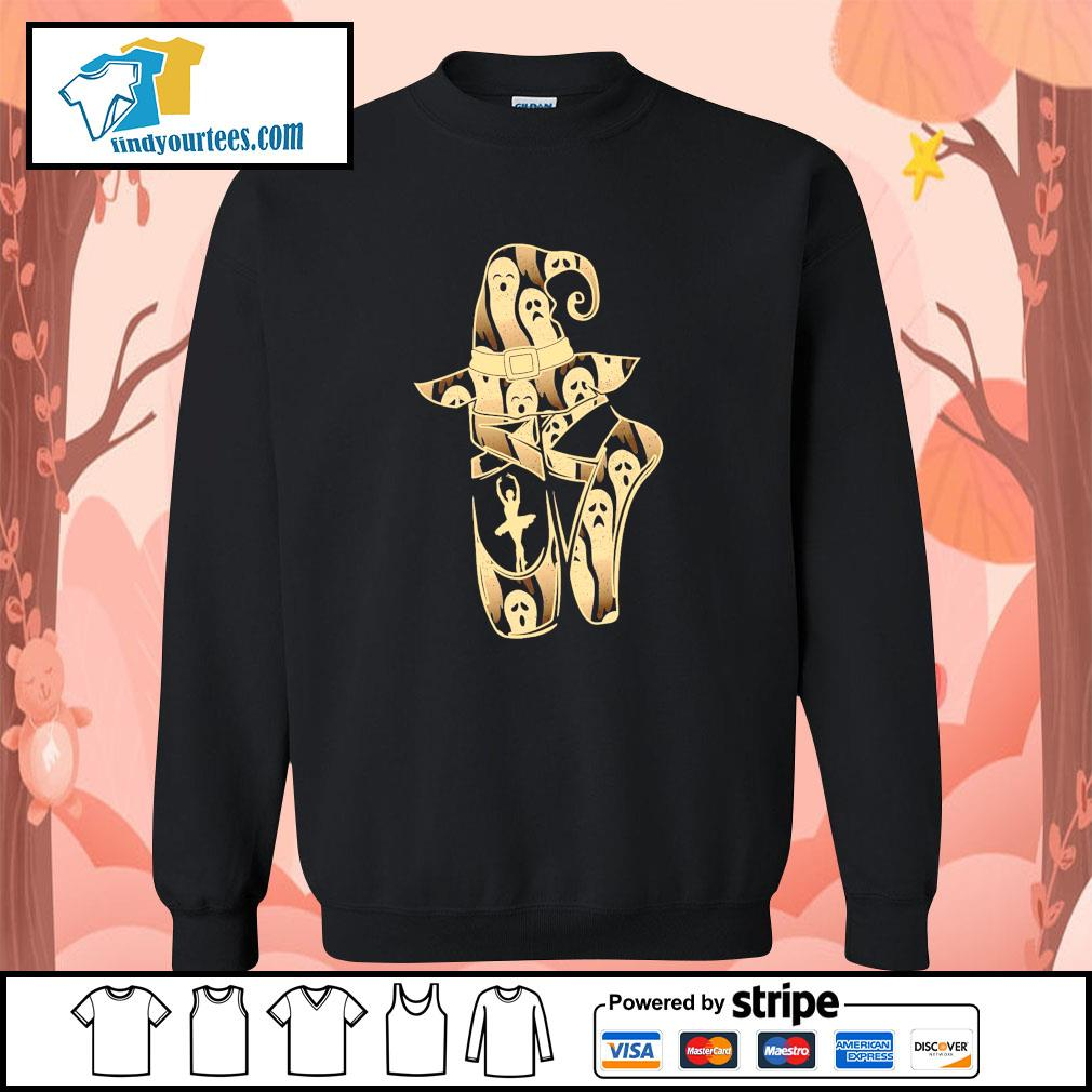 Ballet witch ghost halloween s sweater