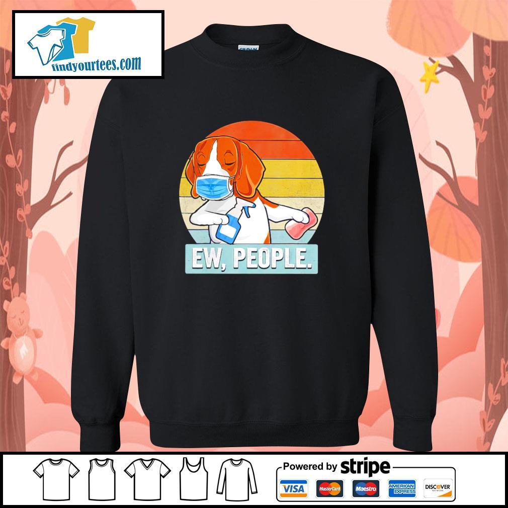 Beagle swap hand ew people vintage s sweater