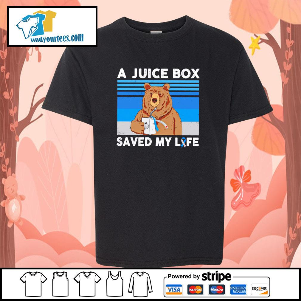 Bear a juice box saved my life gastric cancer s youth-tee