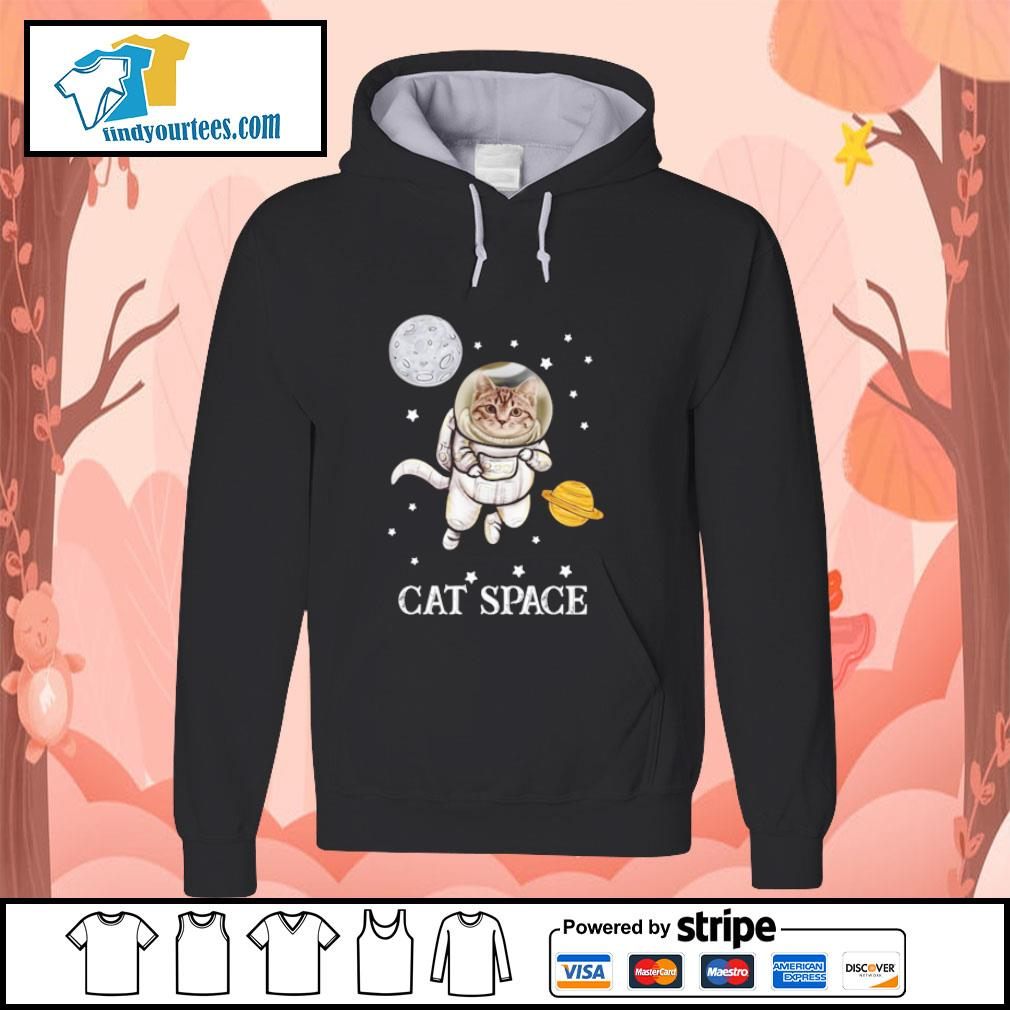 Cat astronaut space s hoodie