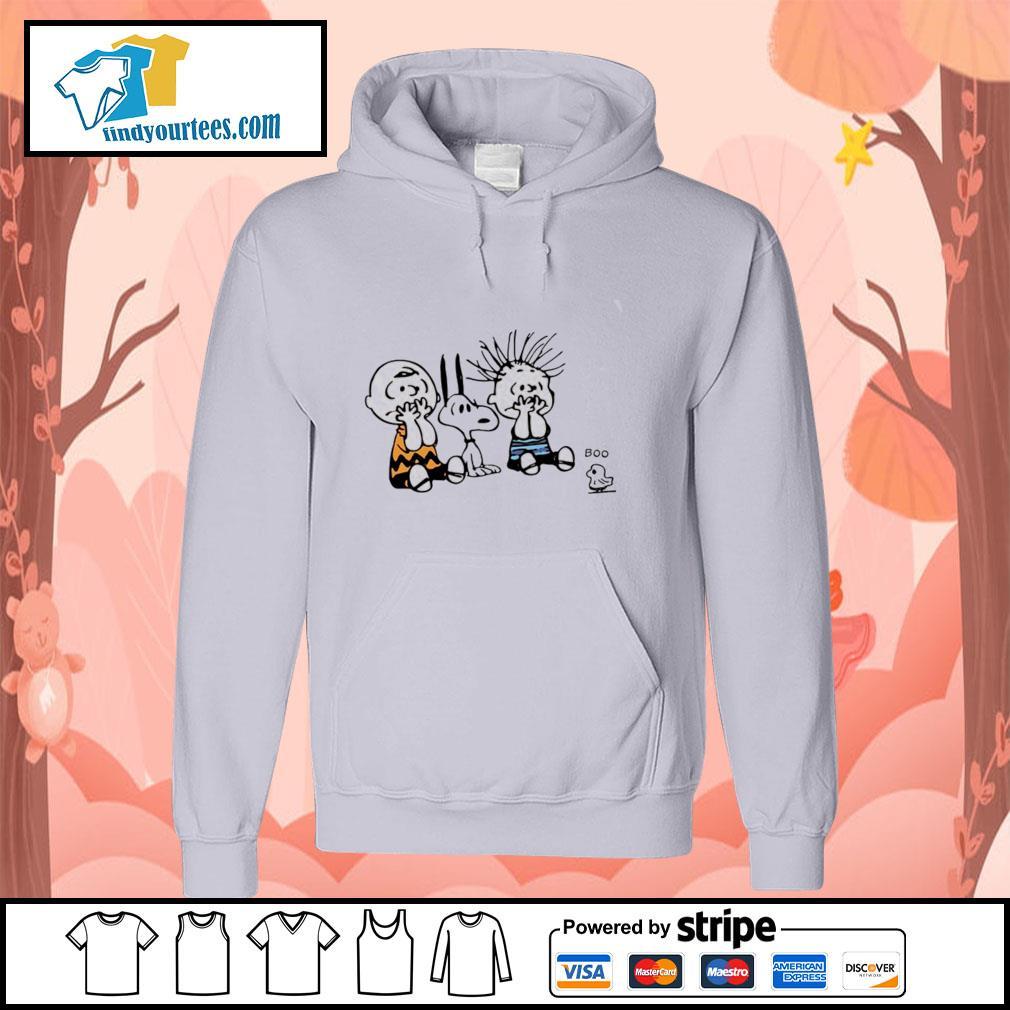 Charlie Brown snoopy woodstock boo s hoodie