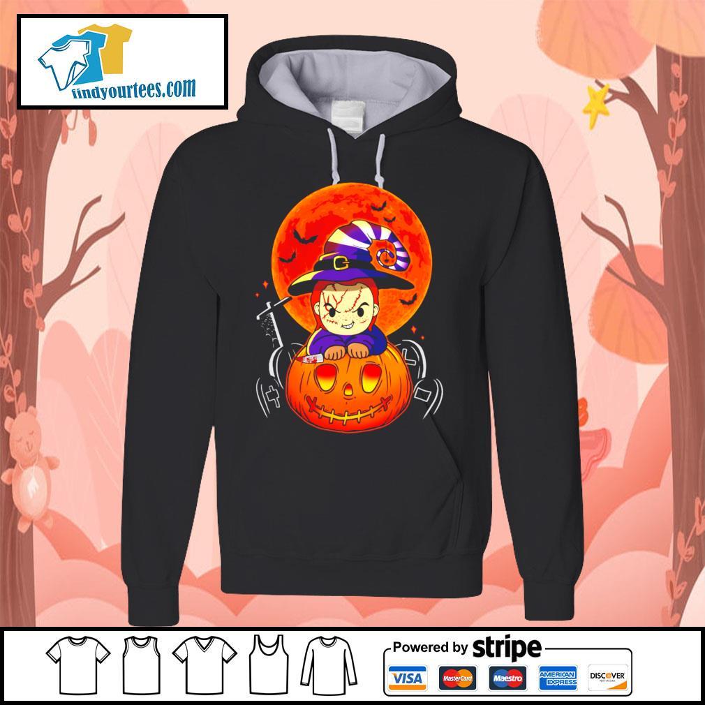 Chucky pumpkin Halloween s Hoodie