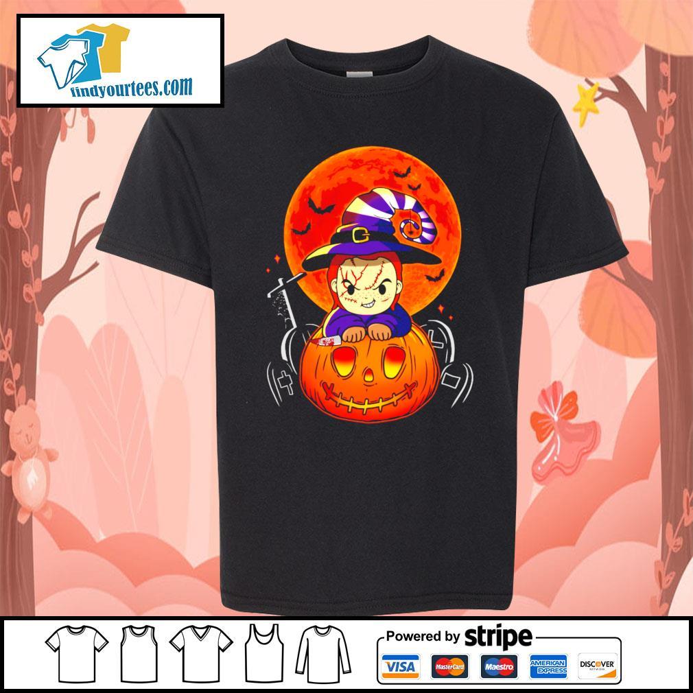 Chucky pumpkin Halloween s Kid-T-shirt