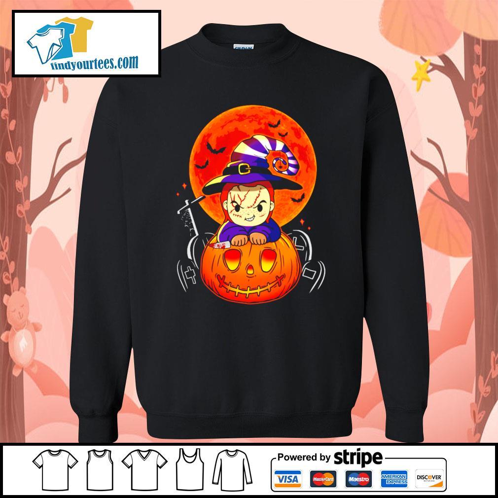 Chucky pumpkin Halloween s Sweater