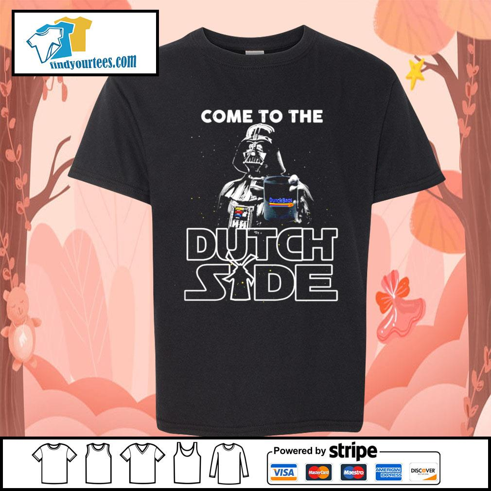 Darth Vader come to the Dutch side s Kid-T-shirt