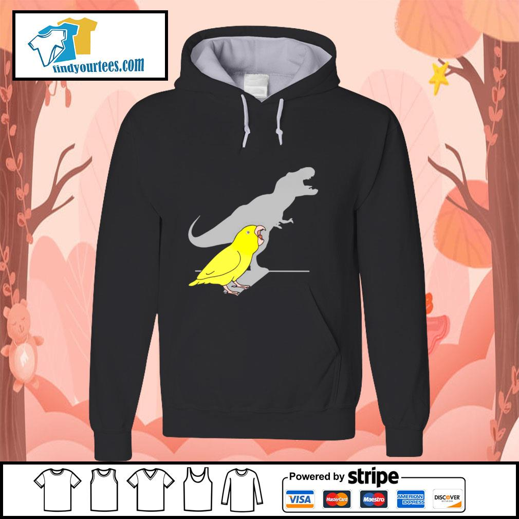 Dinosaur parrot real personality s hoodie