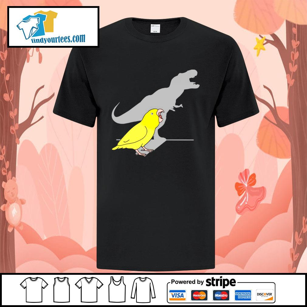 Dinosaur parrot real personality shirt