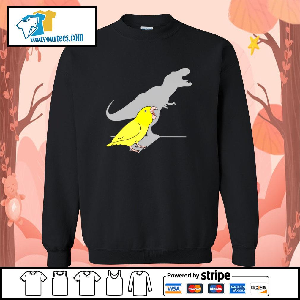 Dinosaur parrot real personality s sweater