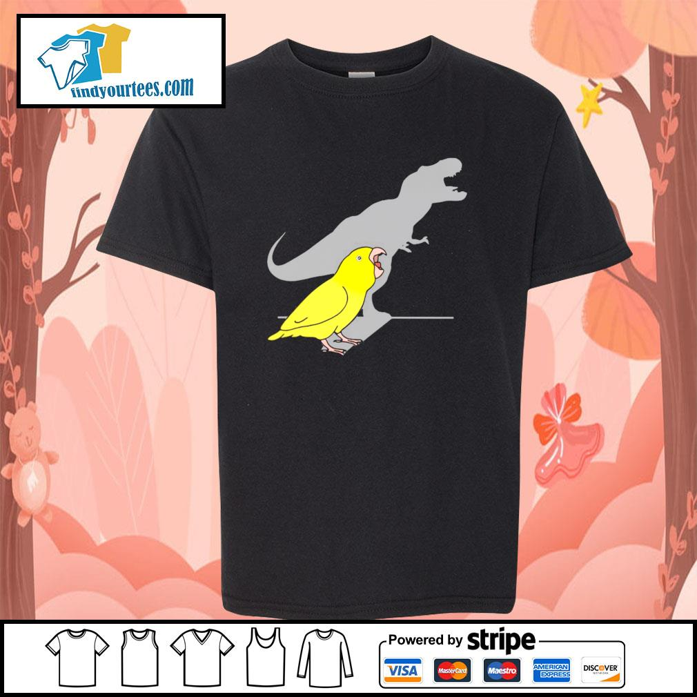 Dinosaur parrot real personality s youth-tee