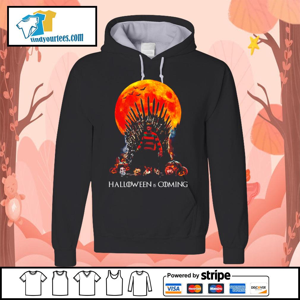 Freddy Krueger King Halloween is coming s Hoodie