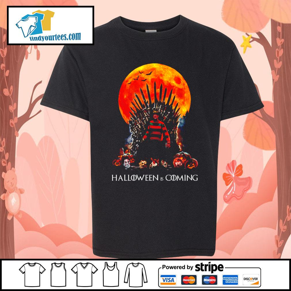 Freddy Krueger King Halloween is coming s Kid-T-shirt