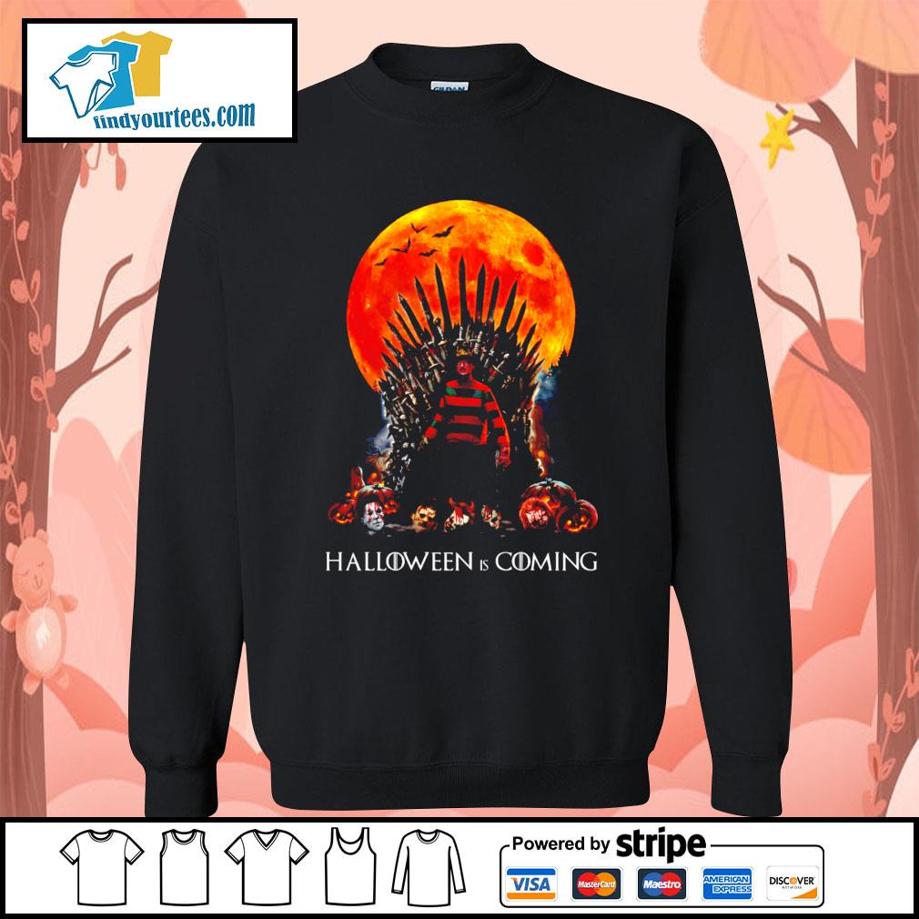 Freddy Krueger King Halloween is coming s Sweater
