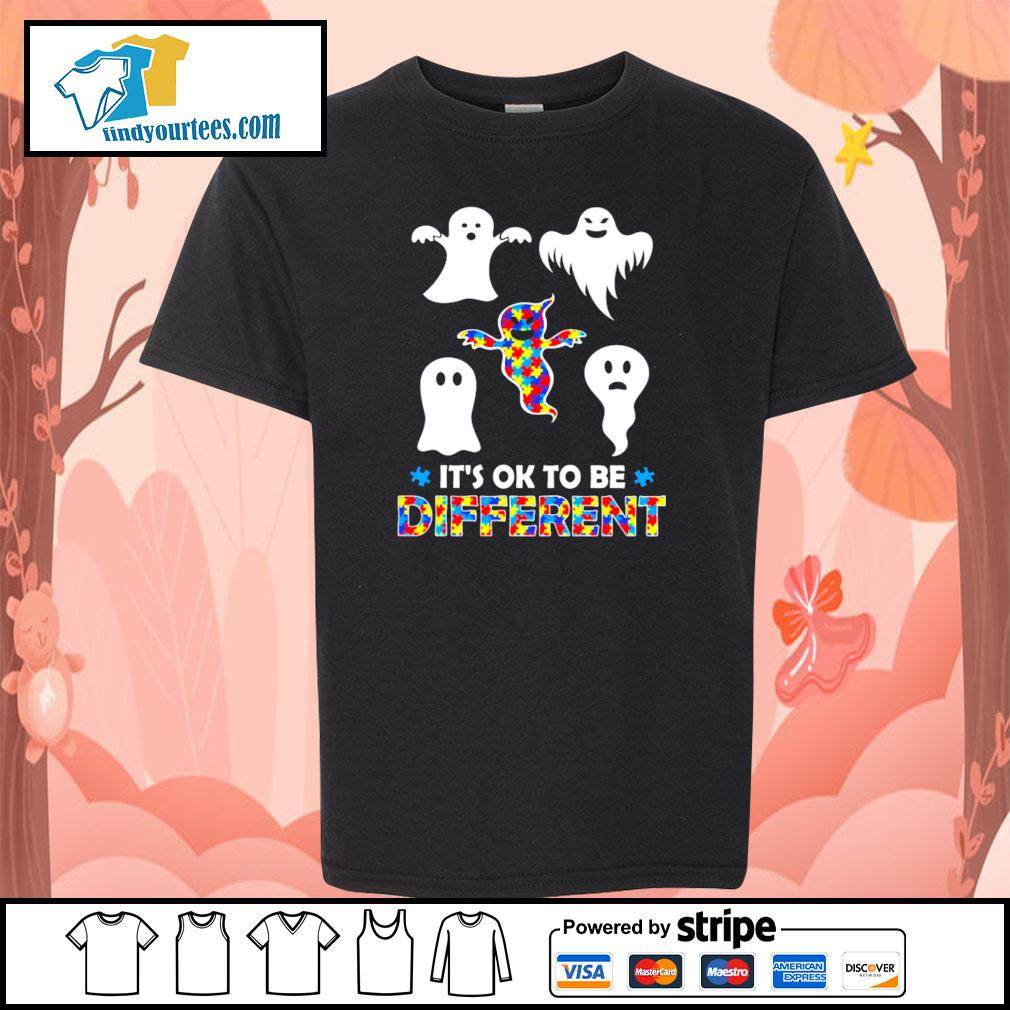Ghost autism it's ok to be different s youth-tee