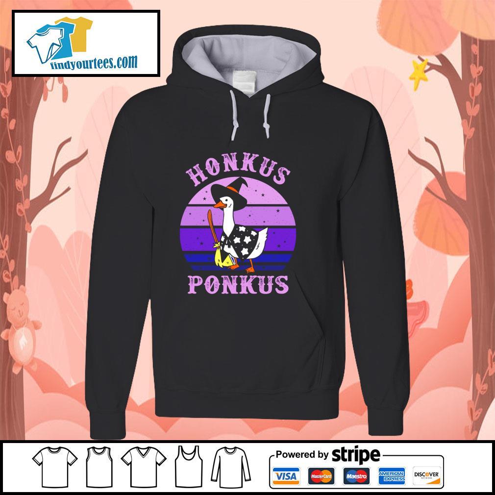 Goose witch honkus ponkus purple s hoodie