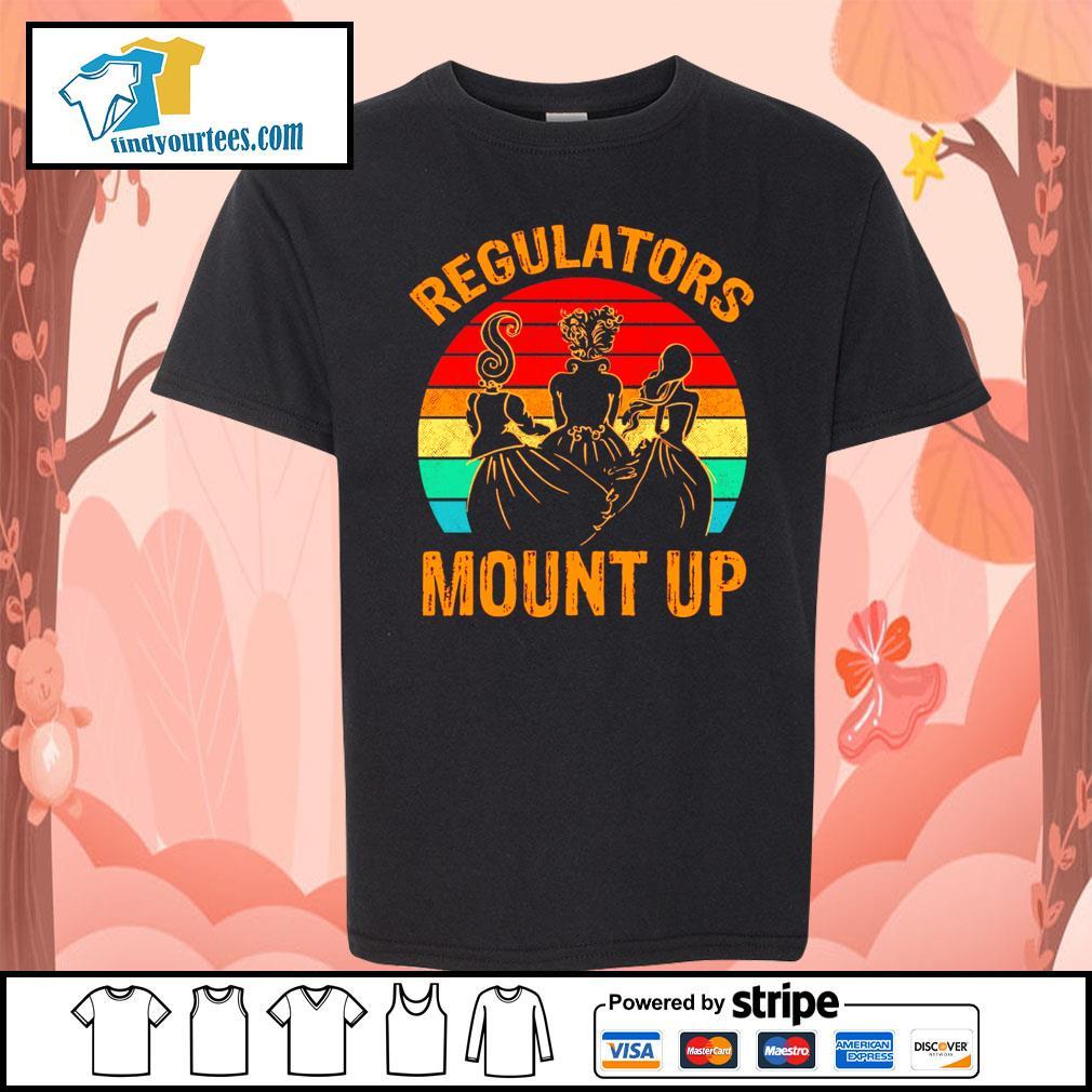 Hocus Pocus regulators mount up vintage s Kid-T-shirt