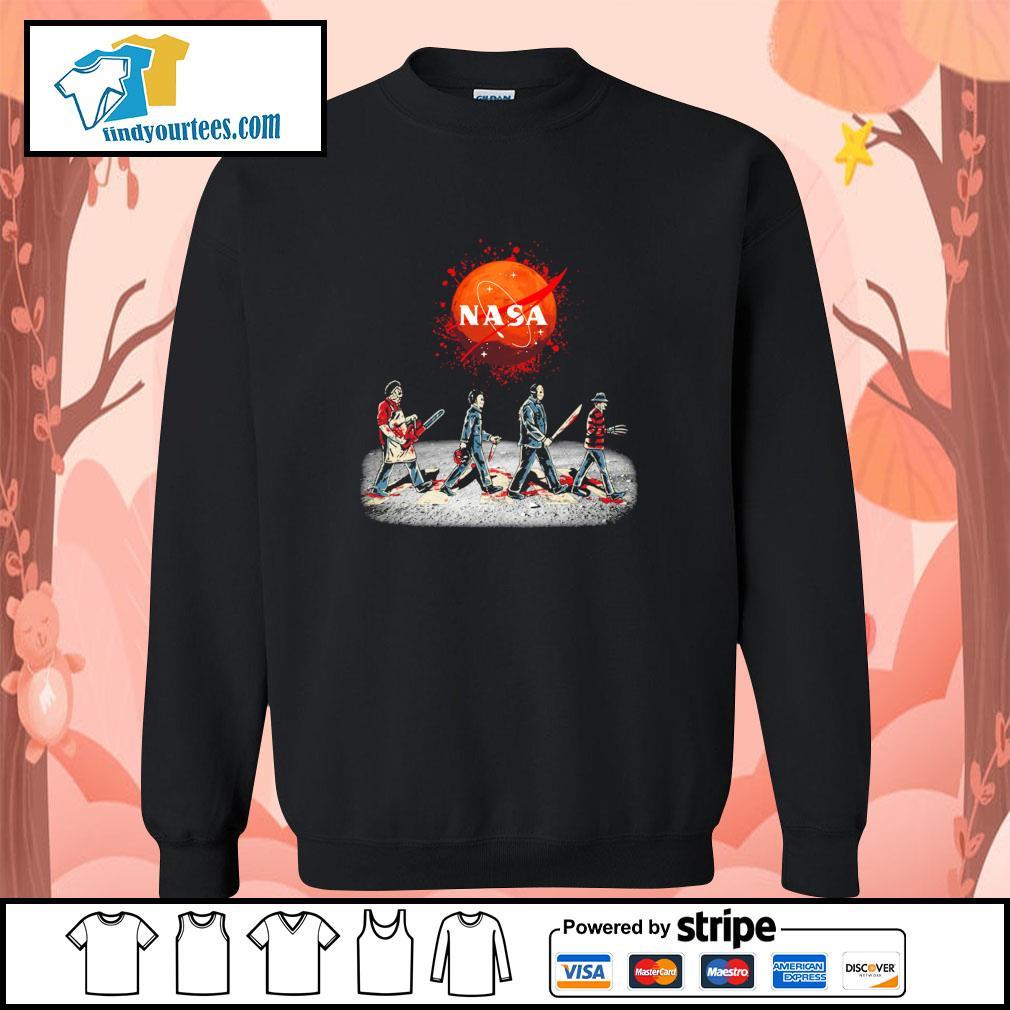 Horror character nasa blood moon abbey road s sweater