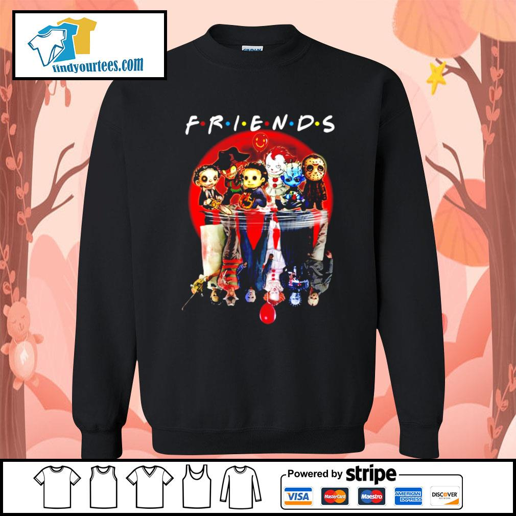Horror movie character water reflection friends s Sweater