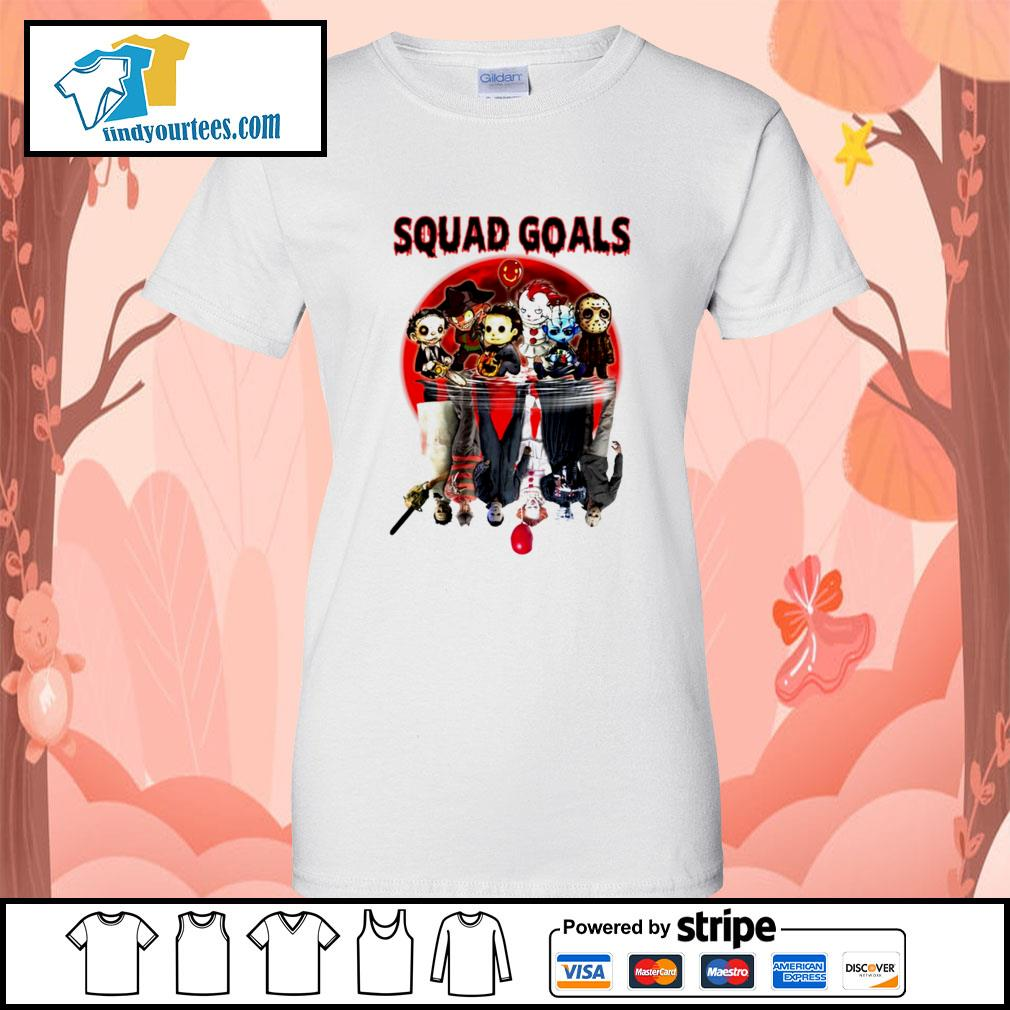 Horror movie character water reflection Squad goals s Ladies-Tee
