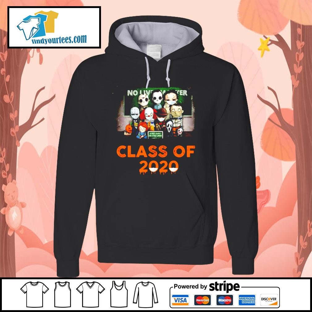 Horror movie characters chibi no lives matter class of 2020 Halloween s Hoodie