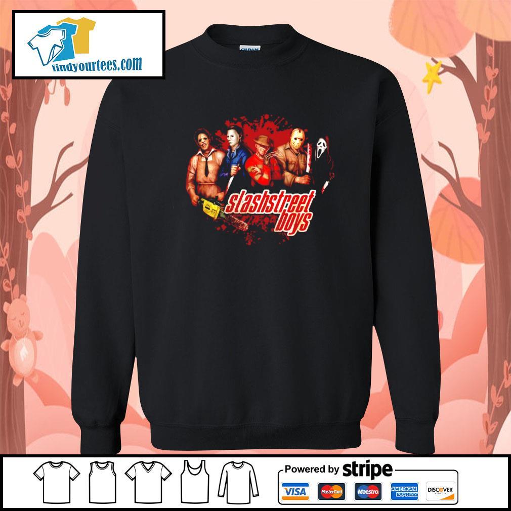 Horror movie characters slashstreet boys s Sweater