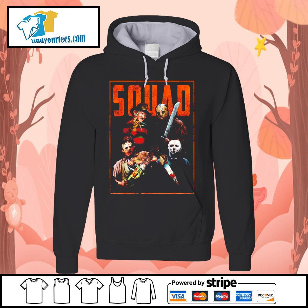 Horror movie characters Squad Halloween s Hoodie