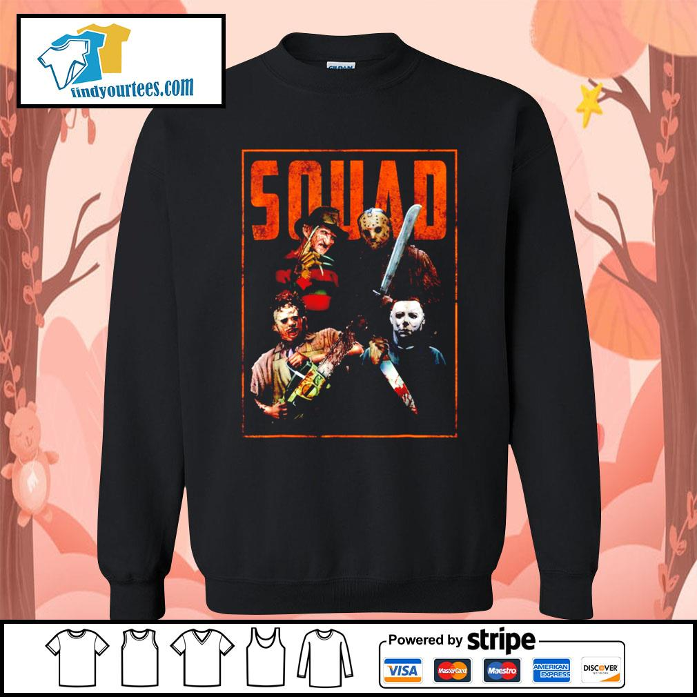 Horror movie characters Squad Halloween s Sweater