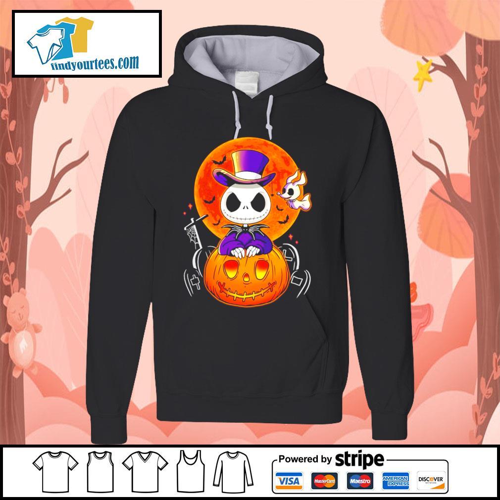 Jack Skellington and Zero pumpkin Halloween s Hoodie