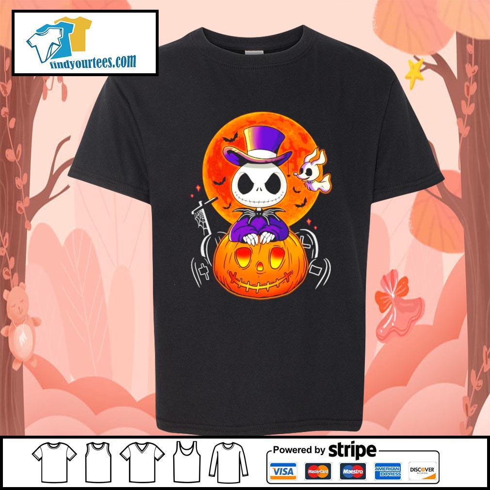 Jack Skellington and Zero pumpkin Halloween s Kid-T-shirt
