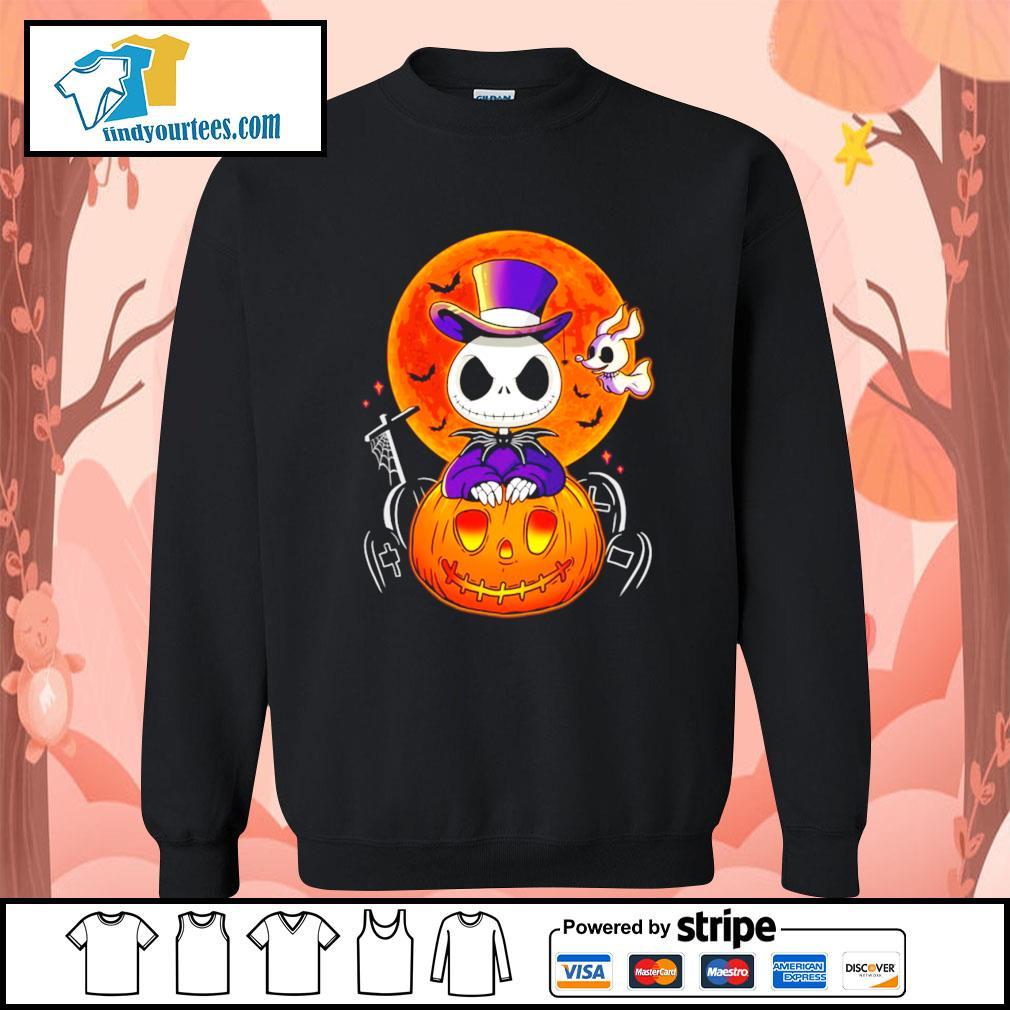 Jack Skellington and Zero pumpkin Halloween s Sweater