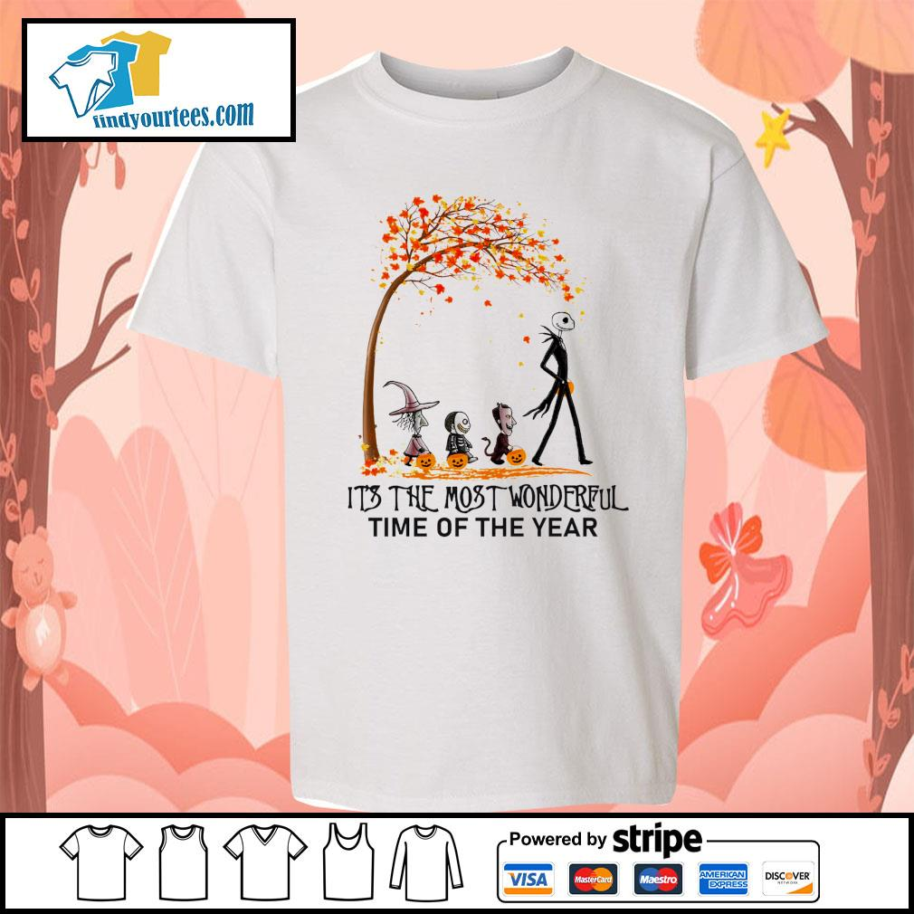 Jack Skellington it's the most wonderful time of the year Halloween s Kid-T-shirt