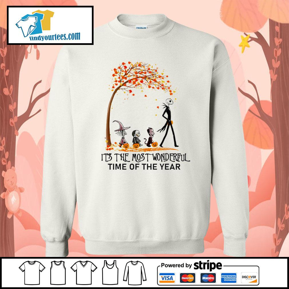 Jack Skellington it's the most wonderful time of the year Halloween s Sweater