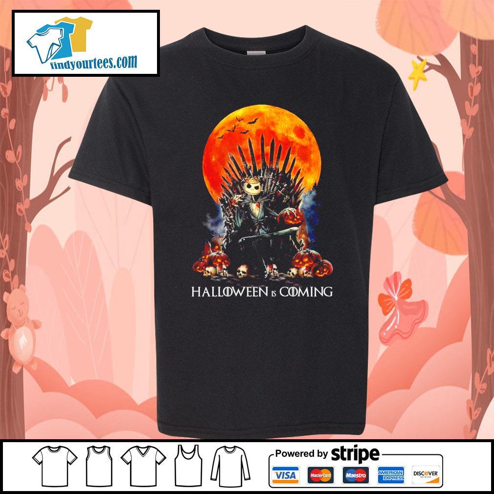 Jack Skellington king Halloween is coming GOT s Kid-T-shirt