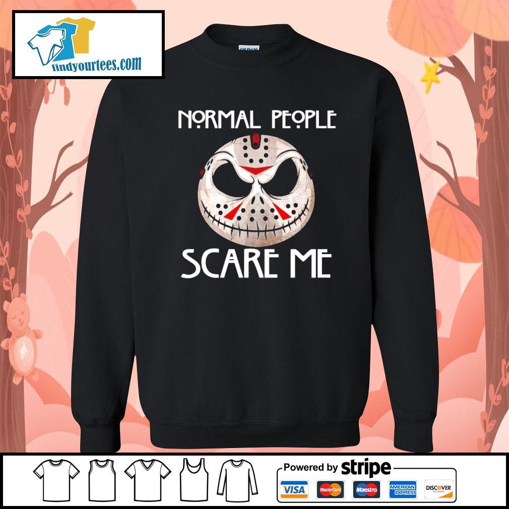 Jason Voorhees normal people scare me s Sweater