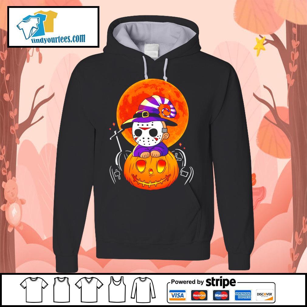 Jason Voorhees pumpkin Halloween s Hoodie