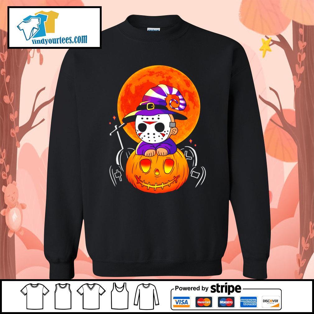 Jason Voorhees pumpkin Halloween s Sweater