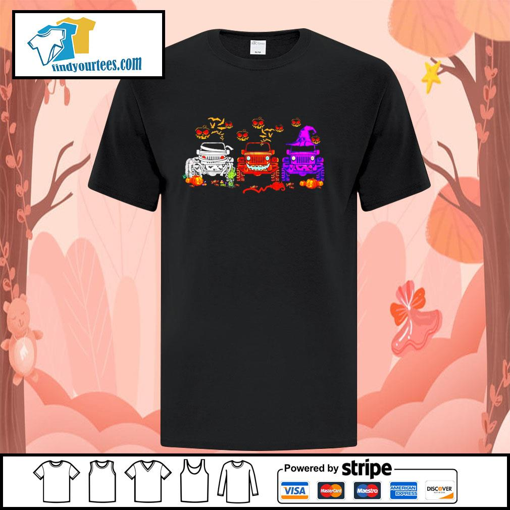 Jeep Hocus Pocus Halloween shirt
