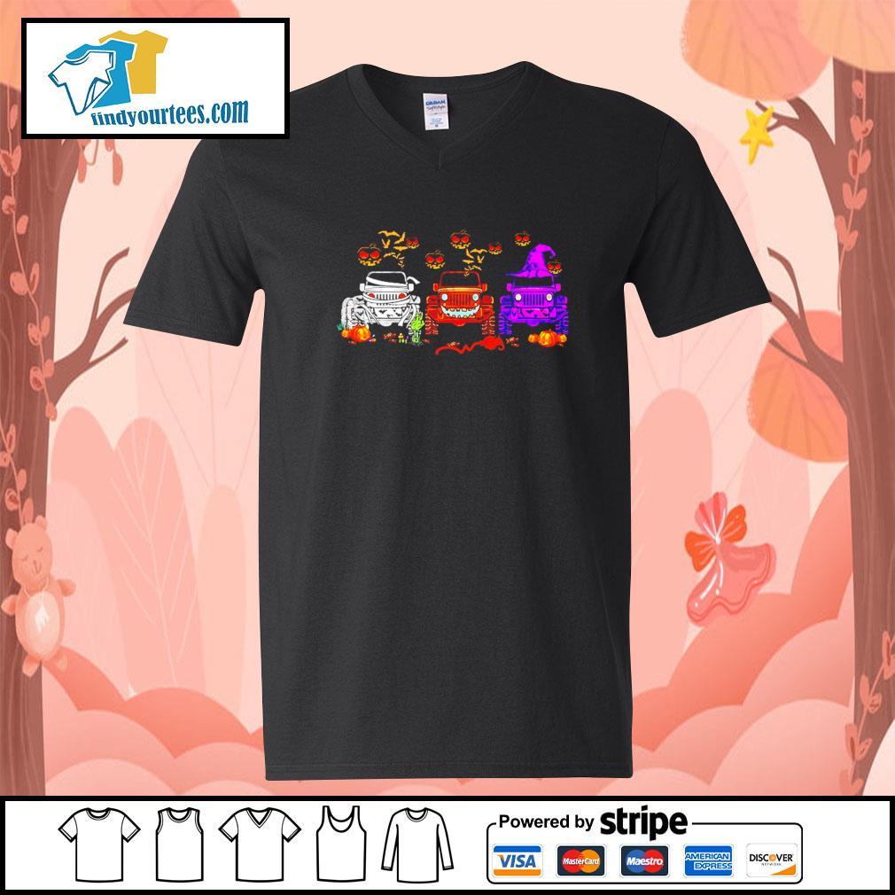 Jeep Hocus Pocus Halloween s V-neck-T-shirt