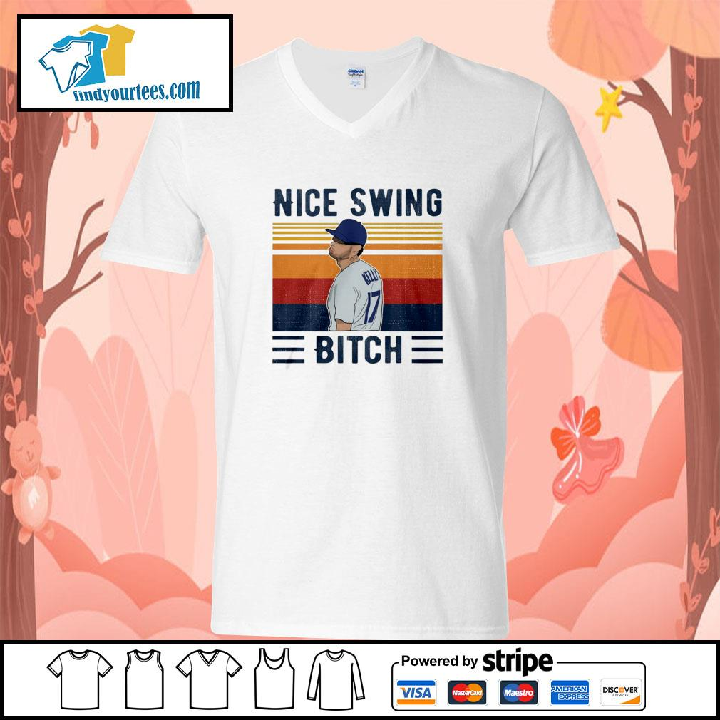 Joe Kelly nice swing bich vintage s v-neck-t-shirt
