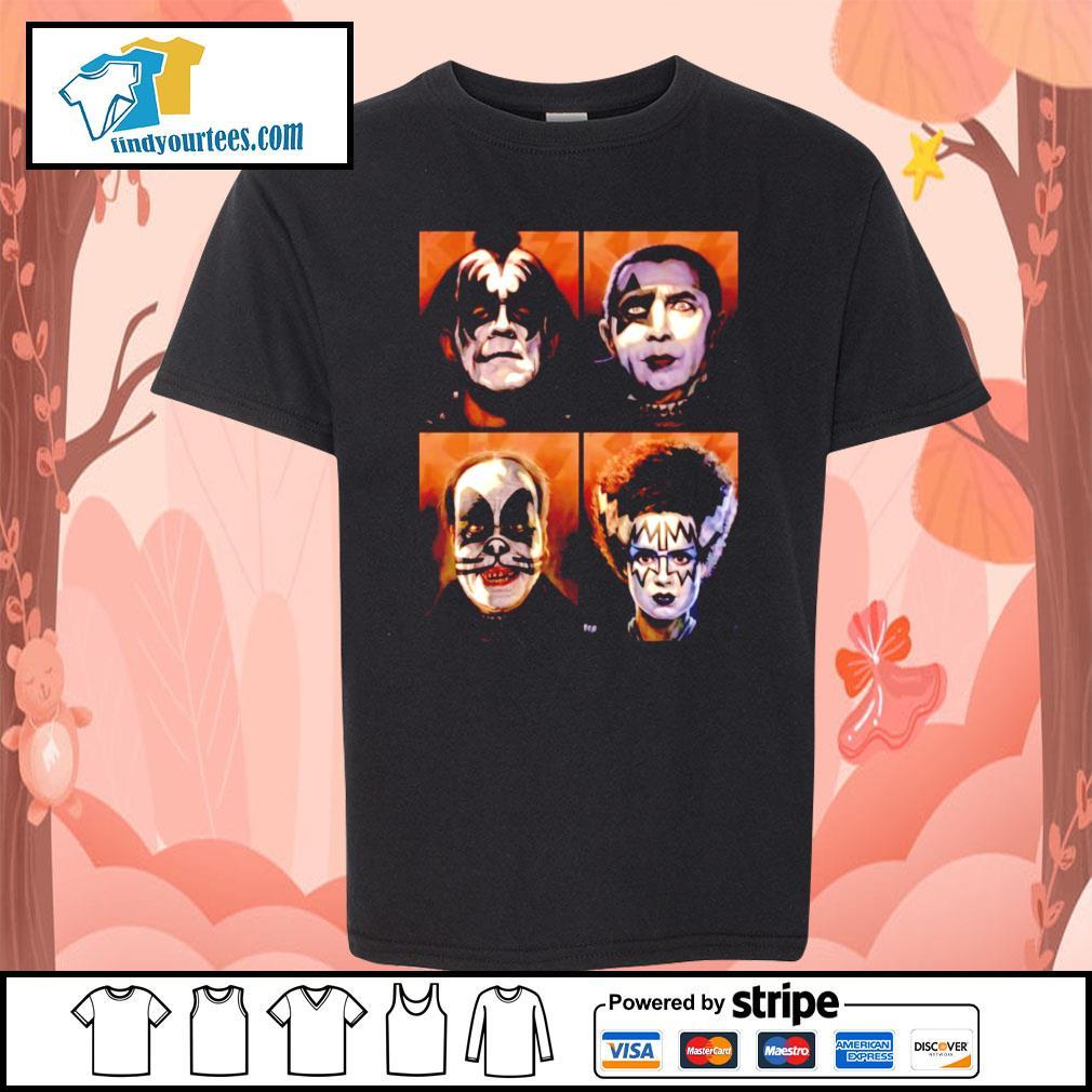 KISS Monsters Horror movie s Kid-T-shirt