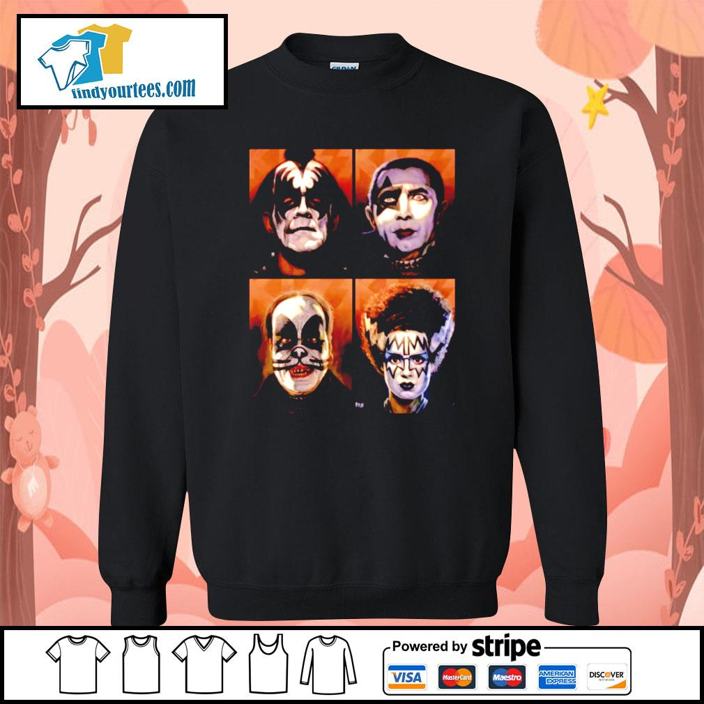 KISS Monsters Horror movie s Sweater