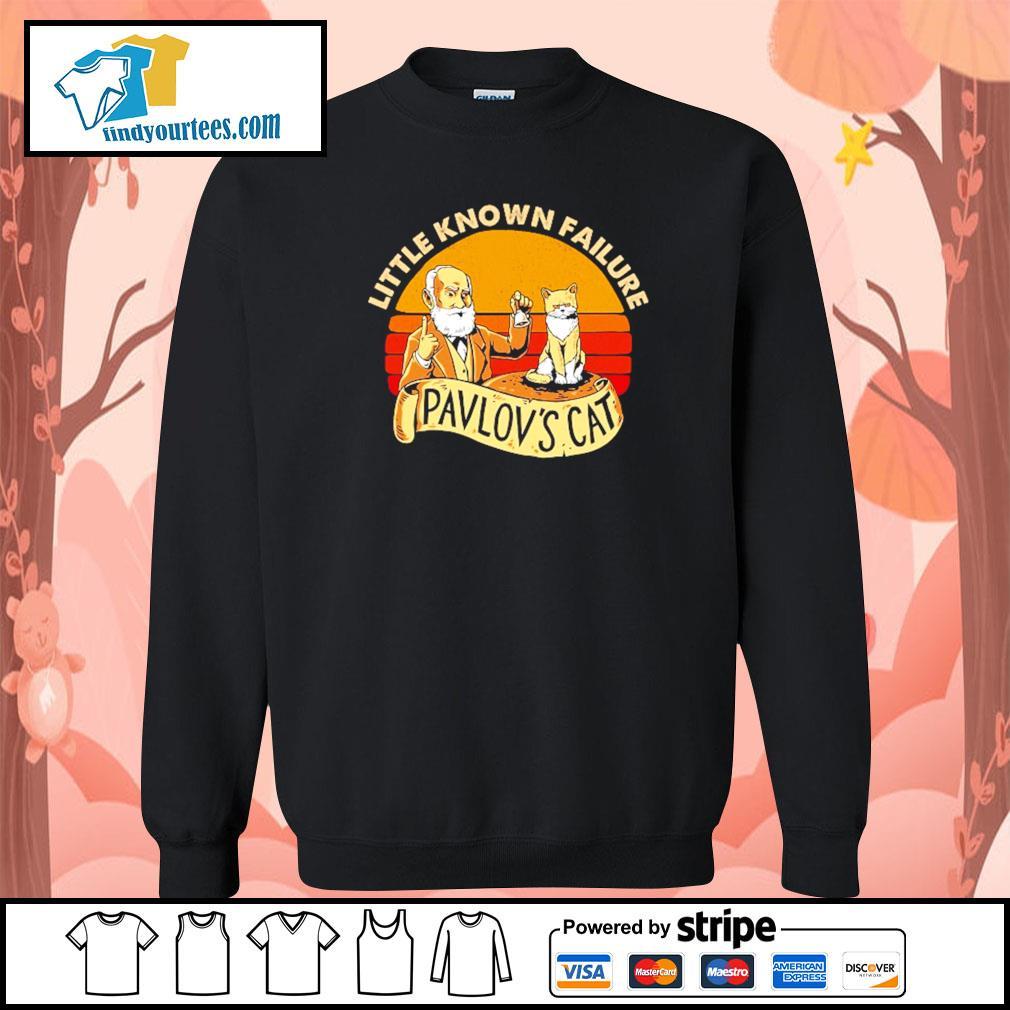 Little known failure pavlov's cat s sweater