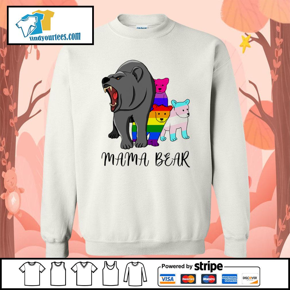 Mama bear lesbian gay bisexual son s sweater