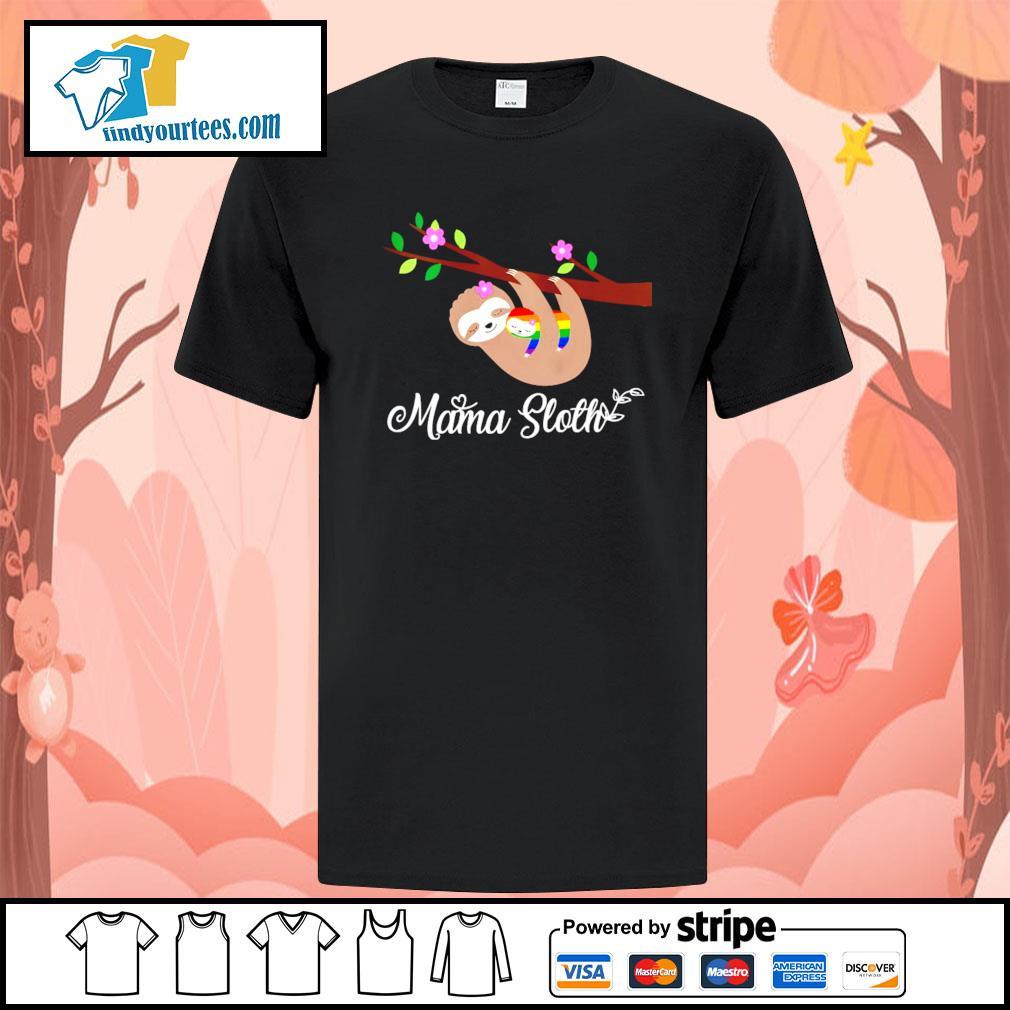 Mama sloth LGBT shirt